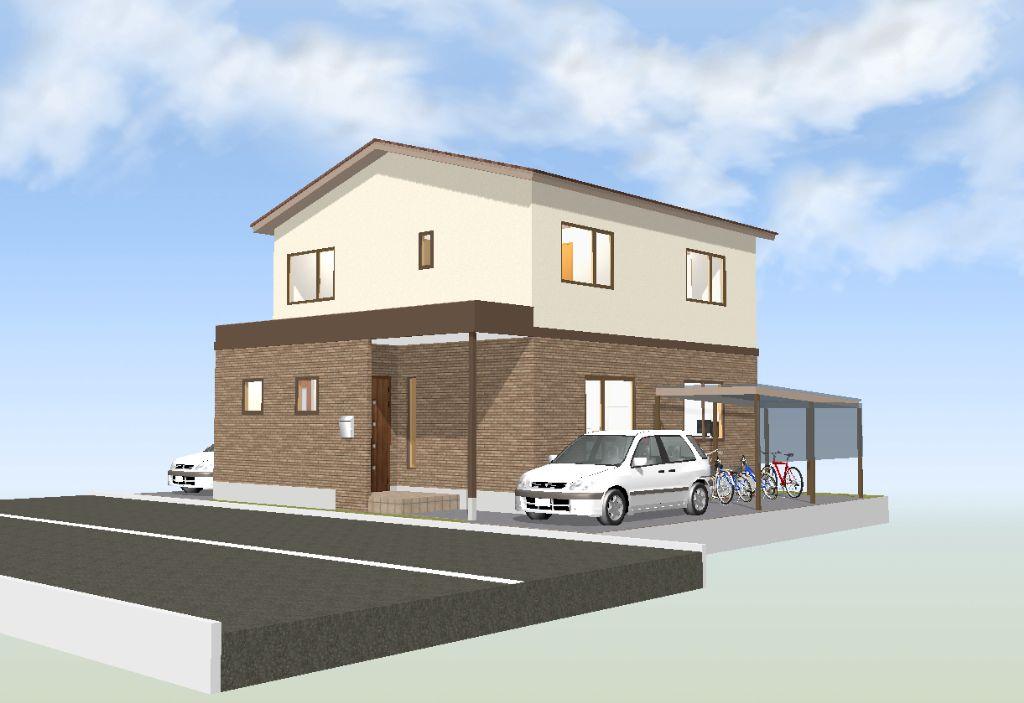 間取り成功例46坪 収納、住みやすさを追求・共働き間取りオタクの家
