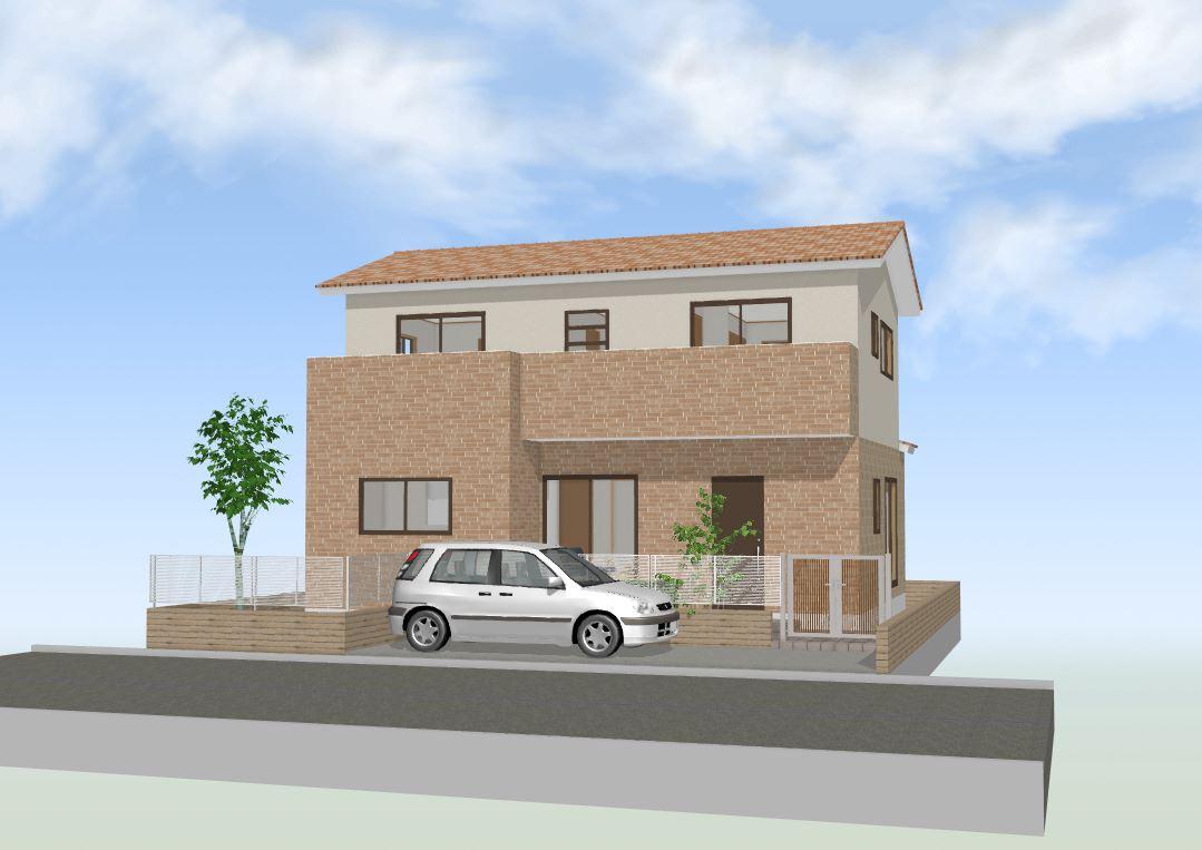 間取図集30~35坪 家族のつながりを大切にした温かく優しい家