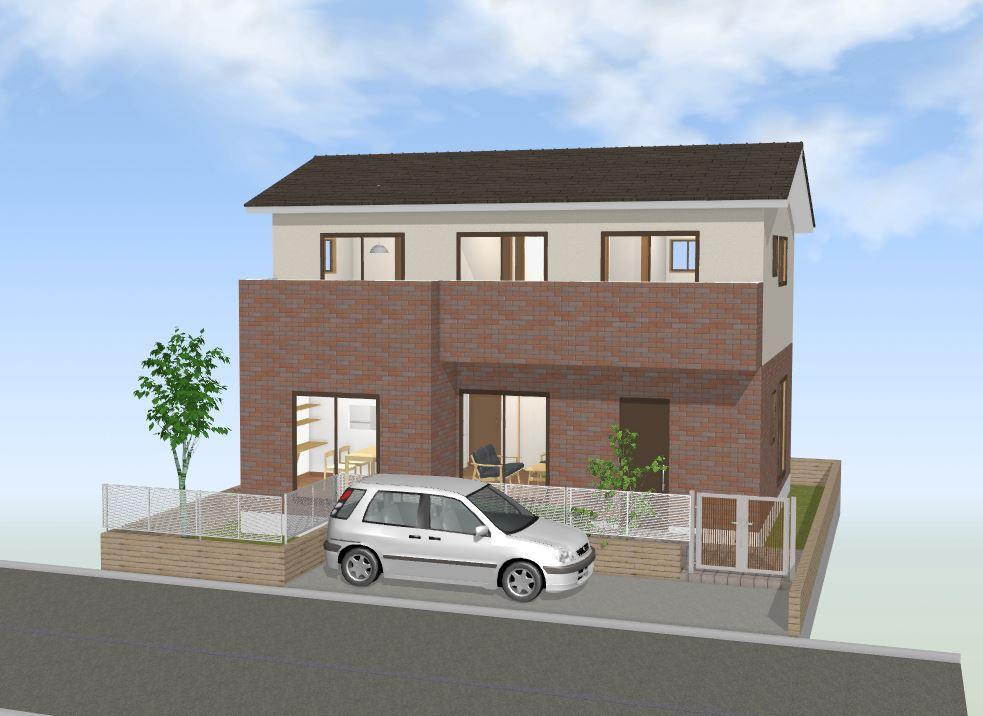 間取図集35~40坪 家族のつながりを大切にした温かく優しい家(2)