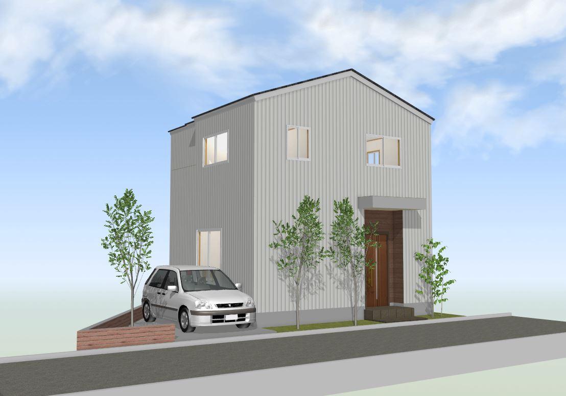 間取り成功例32坪 変形敷地でも快適生活の家