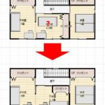 注文住宅間取りで失敗しない方法 実践編② 間取り図に家具を入れてもらう事(1)