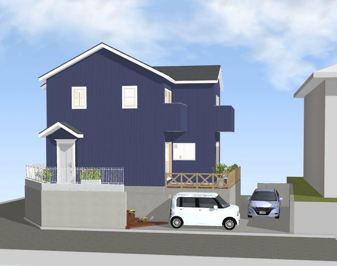 間取り成功例28坪 北斜面でも快適で便利な家