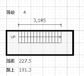 階段バリアフリー基準 4平面