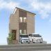 間取り成功例31坪 家事動線の良い細長敷地でも快適な住宅